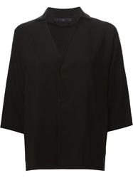 Y's Boxy Fit Jacket Black
