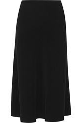 Elizabeth And James Roshen Crepe Midi Skirt Black