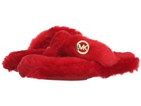 Michael Michael Kors Jet Set Mk Thong Red Women's Slippers