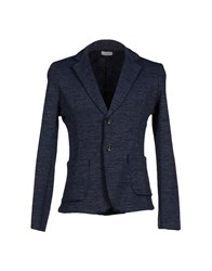 X Cape Suits And Jackets Blazers Men Slate Blue
