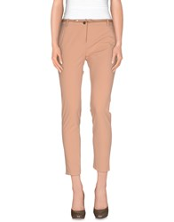 Elisabetta Franchi Trousers Casual Trousers Women Sand