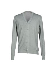 Kangra Cashmere Knitwear Cardigans Men Light Grey