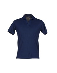 Rossopuro Polo Shirts Dark Blue