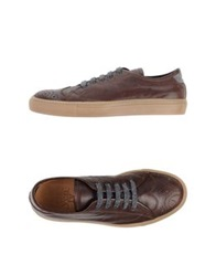 Eleventy Low Tops And Trainers Dark Brown
