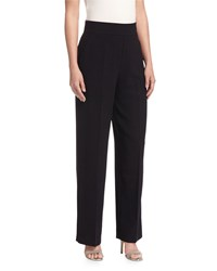 Catherine Catherine Malandrino High Waist Wide Leg Pants Black