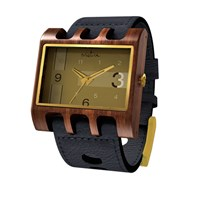 Mistura Wooden Lenzo Watch Black