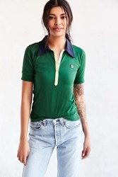 Fila Uo Long Placket Polo Green