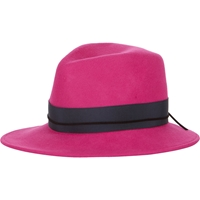 House Of Lafayette Johnny Fedora Pink