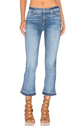 7 For All Mankind Crop Boot Chealsea Lights