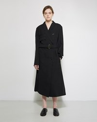 Christophe Lemaire Trench Dress Black