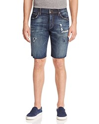 Joe's Jeans Sandro Cutoff Denim Shorts In Blue