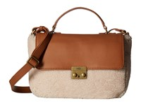 Ugg Vivenne Sheepskin Small Satchel Chestnut Natural Satchel Handbags Brown