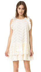 Sam And Lavi Desiree Eyelet Dress Vanilla