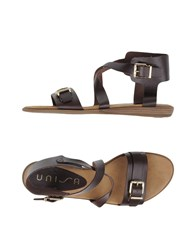 Unisa Footwear Sandals Women Dark Brown