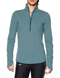 Under Armour Stand Collar Long Sleeve Jacket Teal