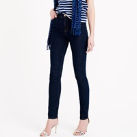J.Crew Petite Lookout High Rise Jean In Resin Wash
