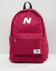 New Balance Mellow Backpack In Red Blue