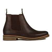 Barbour Men's Farsley Leather Chelsea Boots Brown