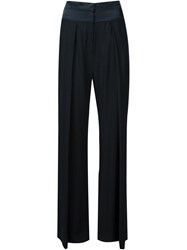 Ann Demeulemeester Pleated Palazzo Pants Black