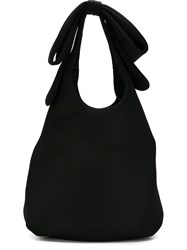 Simone Rocha Bow Detail Shoulder Bag Black