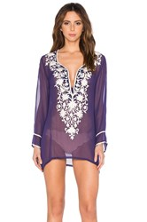 Ella Moss Stella Cover Up Purple