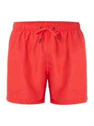 Bjorn Borg Solid Mid Shorts With Logo Red
