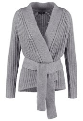 Kiomi Cardigan Grey Mottled Grey