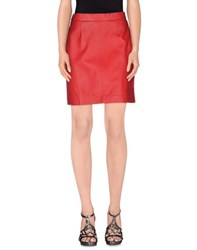 Philosophy Di Alberta Ferretti Skirts Knee Length Skirts Women Red