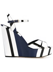 Dolce And Gabbana 'Sandalo' Sandals Blue