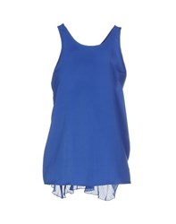 Hope Collection Topwear Tops Women Bright Blue
