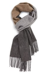 Nordstrom Men's Ombre Stripe Wool Scarf