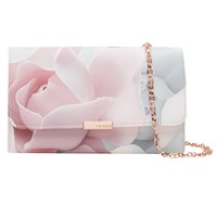 Ted Baker Beckee Porcelain Rose Evening Bag Nude Pink