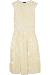 Rochas Fil Coupa Organza Dress