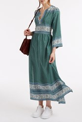 Sea Sabine Maxi Dress Green
