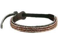 Chan Luu Seed Bead Single Bracelet Nutmeg Bracelet Brown