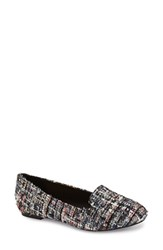 Women's Sole Society 'Jaimin' Loafer Pink Multi Fabric