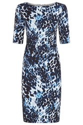Fenn Wright Manson Athena Dress Blue Multi