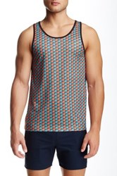 Parke And Ronen Printed Tank Multi