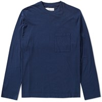 Our Legacy Splash Long Sleeve Box Tee Blue