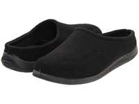 Foamtreads Tomas Black Wool Men's Slippers