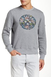 Ben Sherman Foliage Sweatshirt Gray