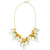 Mabel Chong Antoinette Green Amethyst Necklace Gold