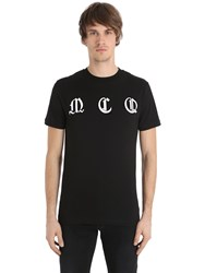 Mcq By Alexander Mcqueen Printed Cotton Jersey T Shirt