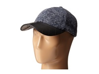 San Diego Hat Company Cth4115 Nubby Tweed Ball Cap With Quilted Pu Bill Cobalt Caps Blue