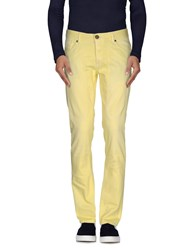 Jeckerson Denim Denim Trousers Men Yellow