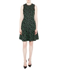 Pink Tartan Jigsaw Alvina Dress Green Black