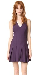 Elizabeth And James Sabine Dress Deep Plum