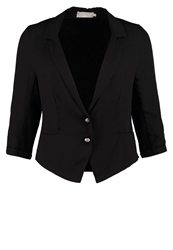Cream Mattie Blazer Pitch Black