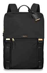 Tumi 'Voyageur Sacha' Flap Backpack Black