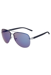 Your Turn Sunglasses Silver Matt Navy Blue